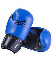 Перчатки боксерские Spider Blue, к/з, 14 oz KSA