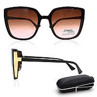 Солнцезащитные очки с коричневыми стеклами UV 400 O'NeeiLL D9105 черные