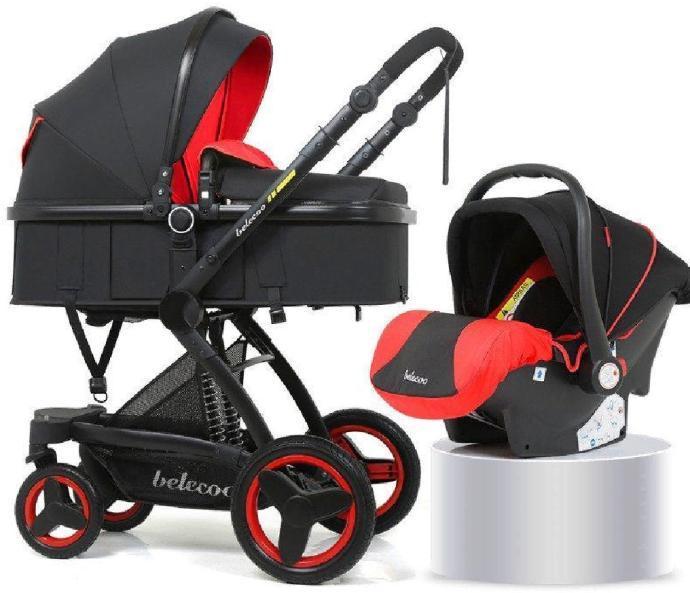 Belecoo 3в1 красный-черный