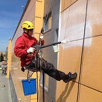 Мытьё фасадов зданий