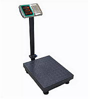Электронные торговые весы напольные с металлическими кнопками с двойным дисплеем складные 300 кг Beka