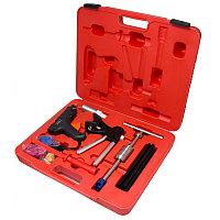 Набор инструментов для безпокрасочного удаления вмятин с термопистолетом 32пр., в кейсе Forsage