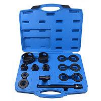 Набор инструментов для замены ступичных подшипников 15пр. (внешние диаметры: 62, 64, 66, 68, 72, 74мм), в кейс