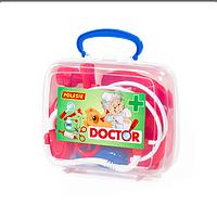 """Набор """"Доктор"""" в чемоданчике. Полесье"""