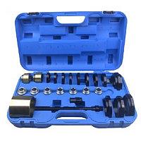 Набор инструментов для замены ступичных подшипников 25пр.(размеры Ø60-85мм), в кейсе Rock FORCE