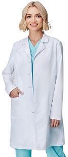 Медицинский халат женский PULSE, на пуговицах, длинный рукав  ОПТОМ