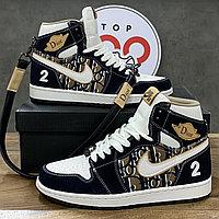 Кроссовки Nike Air Jordan 1 Dior