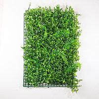 Коврик Кориандр, Вьюн искусственный, (L60см, W40см), темно-зеленый