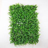 Коврик Эвкалипт, Туя, Трава искусственный, (L60см, W40см), зеленый