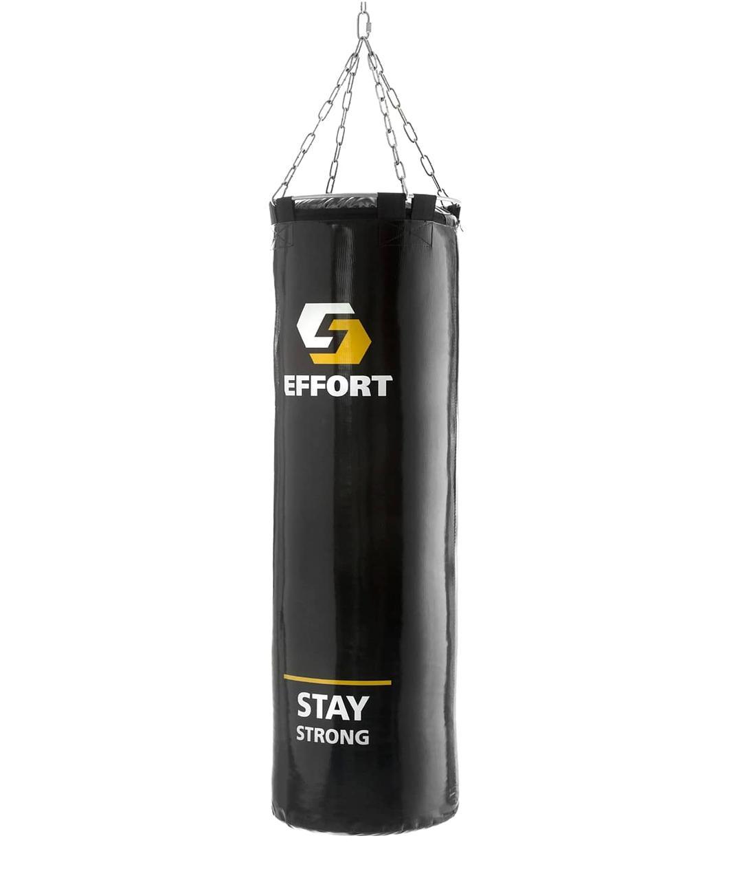 Мешок боксерский E255, тент, 45 кг, черный Effort