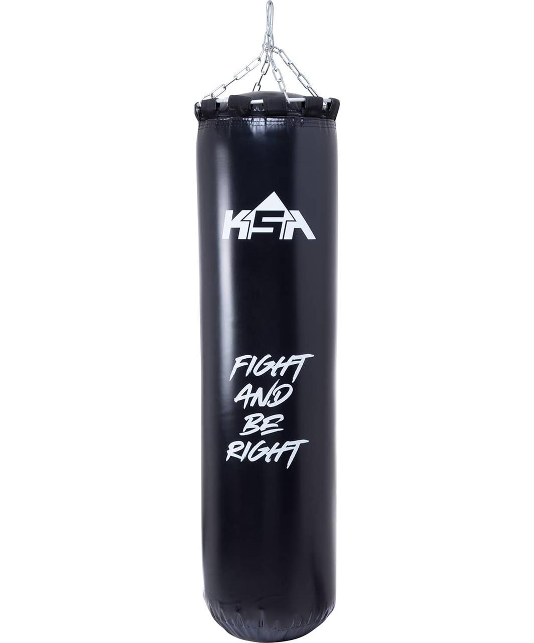 Мешок боксерский PB-02, 140 см, 55 кг, ПВХ, черный KSA