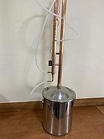 Медный самогонный аппарат Tavalga 25 литров, медная колонна