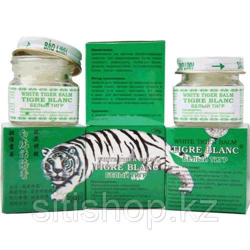 Бальзам для улучшения кровообращения - Белый тигр