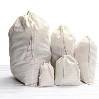 Эко мешки для листьев и мусора из хлопка