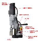 Euroboor ECO.55S+/T  Сверлильно-резьбонарезной станок на магнитном основании, фото 4