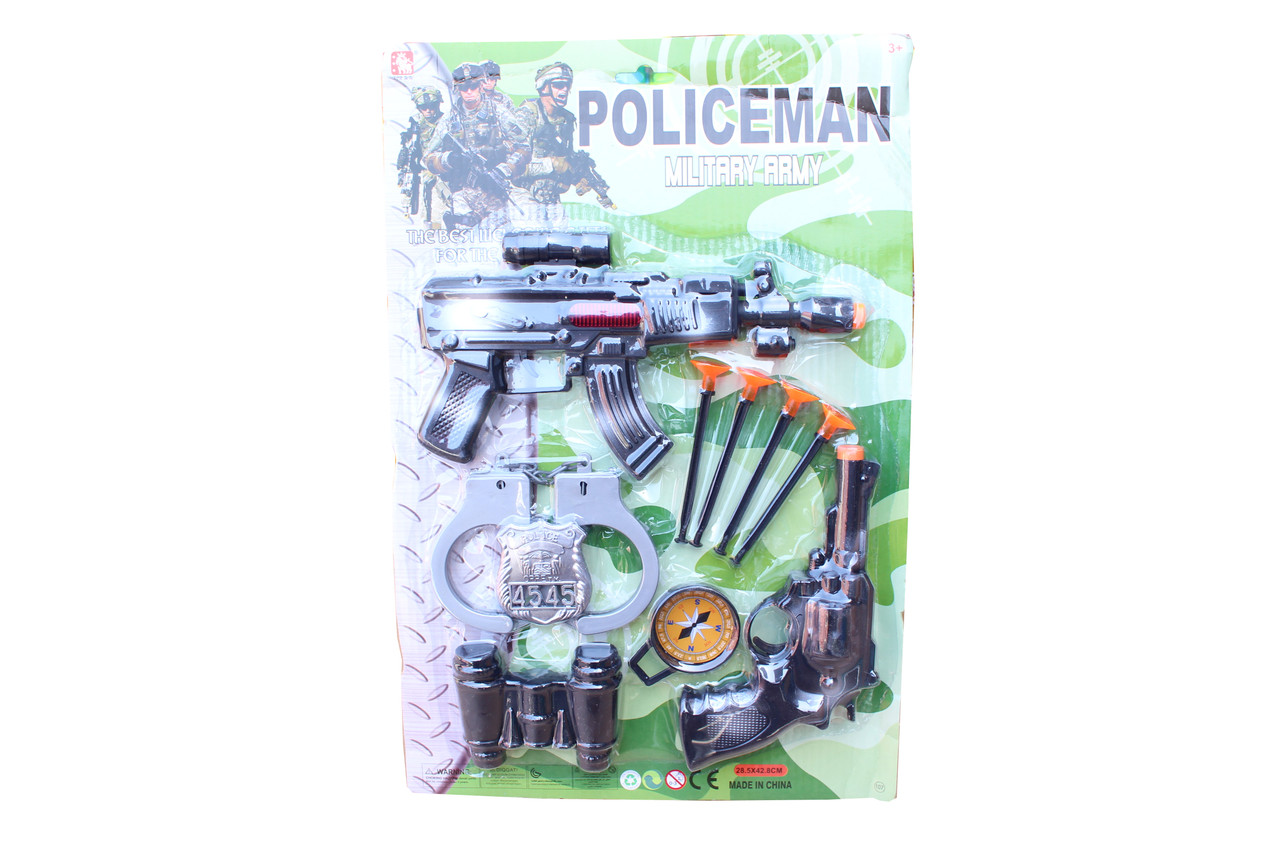 Набор пистолет (полиция) 2727-4