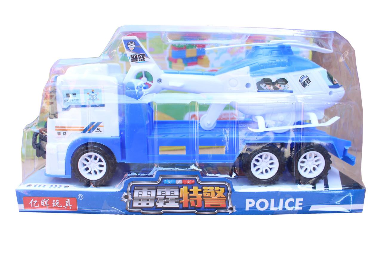 Эвакуатор с вертолетом полицейский 328-10
