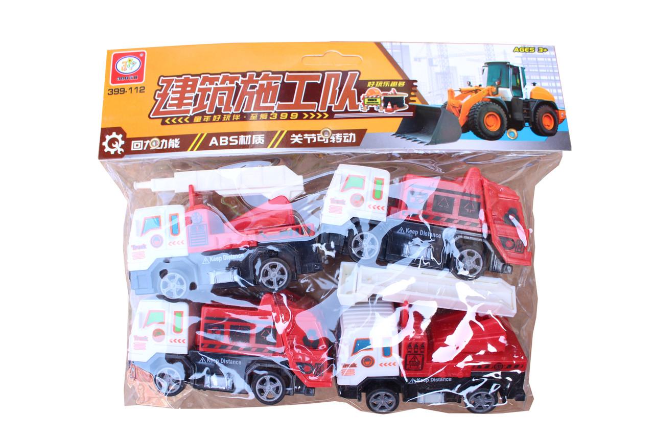 Пожарный набор 4в1 399-112