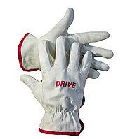 Перчатки кожаные DRIVE