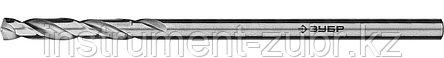 Сверло по металлу, сталь Р6М5, класс А, ЗУБР ПРОФ-А 2.4х57мм, фото 2