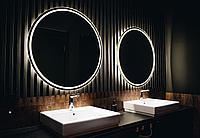 Круглое зеркало с LED подсветкой, фото 1