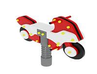 Качалки на пружине, мотоцикл