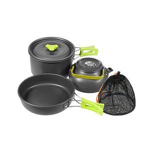 Туристический набор посуды для походов День отца!, фото 2