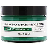 Some By Mi Крем для Проблемной кожи AHA/BHA/PHA 30 Days Miracle Cream / 60 мл., фото 1