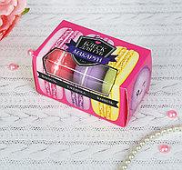 "wau Набор блесков для губ ""Макарун"" 10 гр, микс вкусов:ежевика, ваниль"