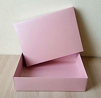 Коробка крышка-дно 23x17x3 см Фиолетовый
