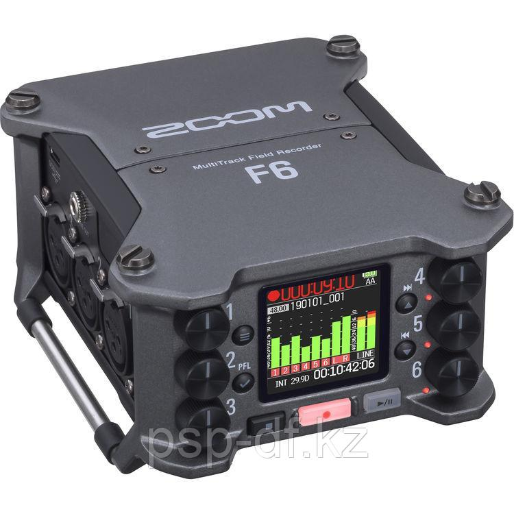 Рекордер Zoom F6 6-Input / 14-Track Multitrack Field Recorder - фото 1