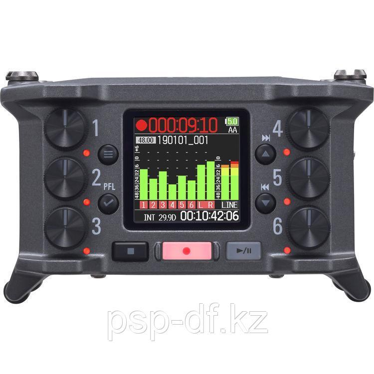 Рекордер Zoom F6 6-Input / 14-Track Multitrack Field Recorder - фото 2