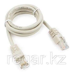 Патч-корд UTP Cablexpert PP6U-1M кат.6, 1м, литой, многожильный (серый)