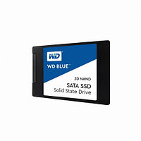 Жесткий диск внутренний Western Digital (WD) Blue 3D NAND (500Гб, SSD, 2,5″, Для ноутбуков, SATA) WDS500G2B0A