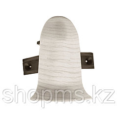 Угол наружный+стык  ELSI 100 Дуб снежный *1 комплект