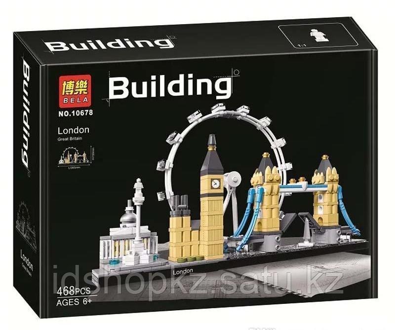 Конструктор Архитектура Лондон 468 деталей - фото 2