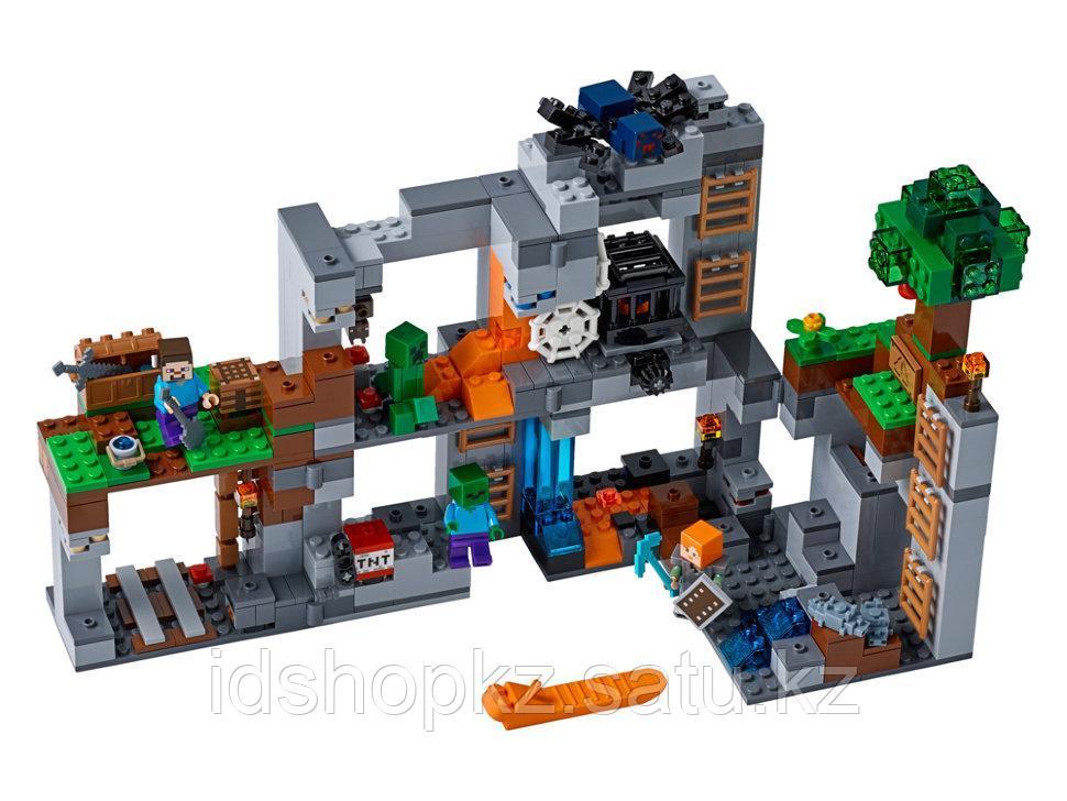 Конструктор Майнкрафт Приключения в шахтах 664 деталей - фото 2