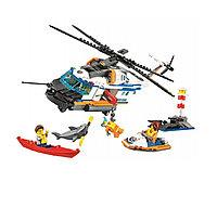 Конструктор Cities Сверхмощный спасательный вертолет 439 деталей