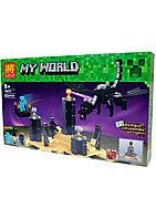 Конструктор LELE Minecraft MY WORLD #79073 дракон Края