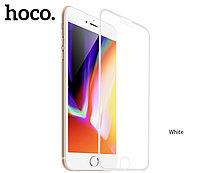 Защитное стекло HOCO A12 для iPhone 7+/8+ белый