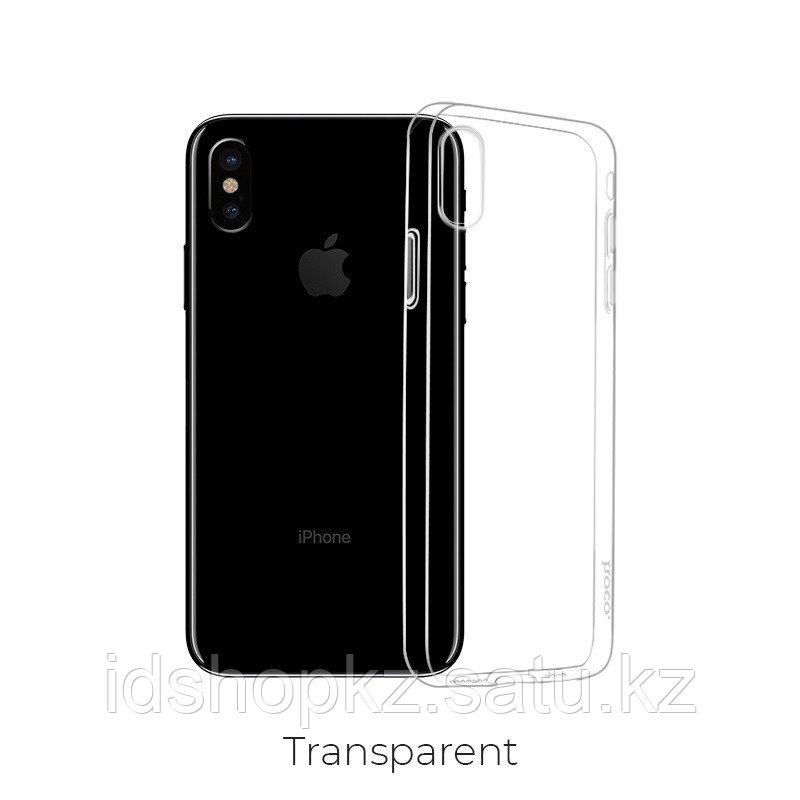 Чехол HOCO TPU Light Series для iPhone XS прозрачный, 0,8 мм - фото 1