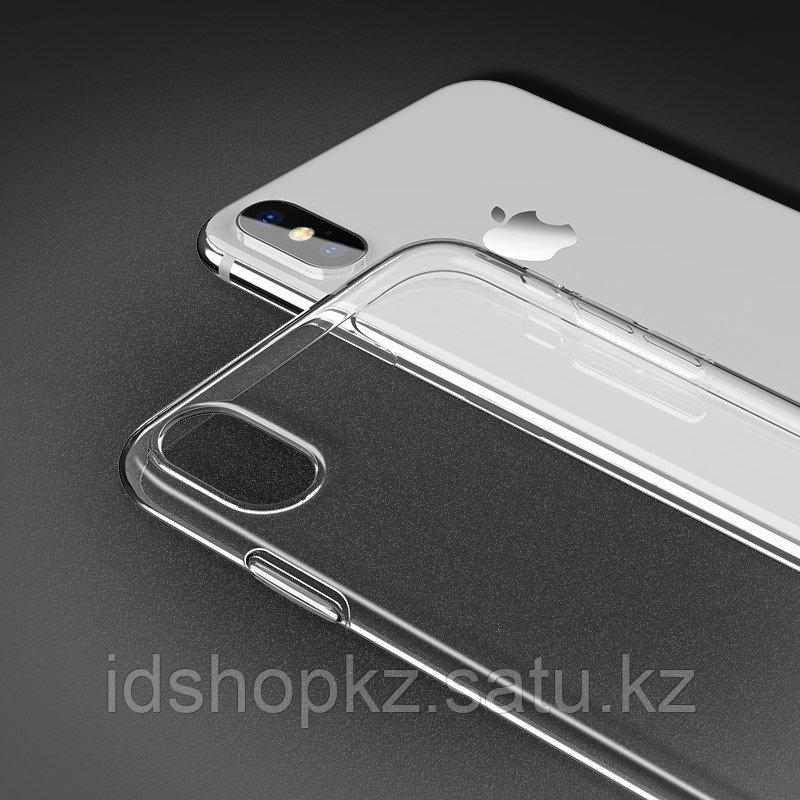 Чехол HOCO TPU Light Series для iPhone XS прозрачный, 0,8 мм - фото 4