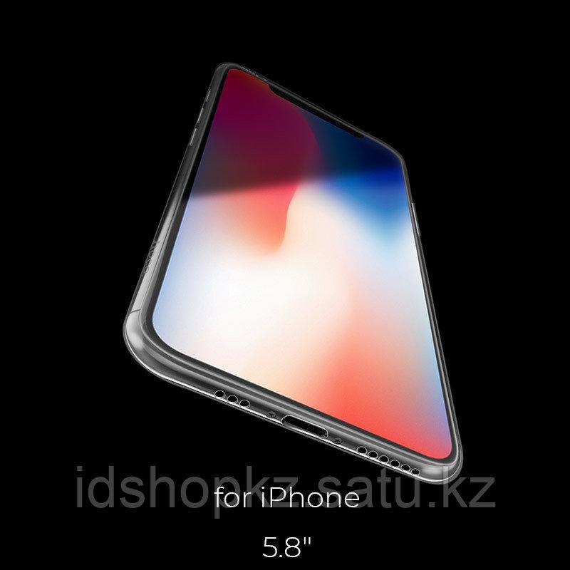 Чехол HOCO TPU Light Series для iPhone XS прозрачный, 0,8 мм - фото 6