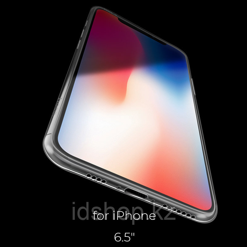 Чехол HOCO TPU Light Series для iPhone XS max прозрачный, 0,8 мм - фото 6