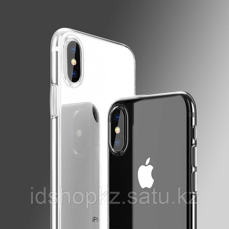 Чехол HOCO TPU Light Series для iPhone XR черный прозрачный, 0,8 мм - фото 3