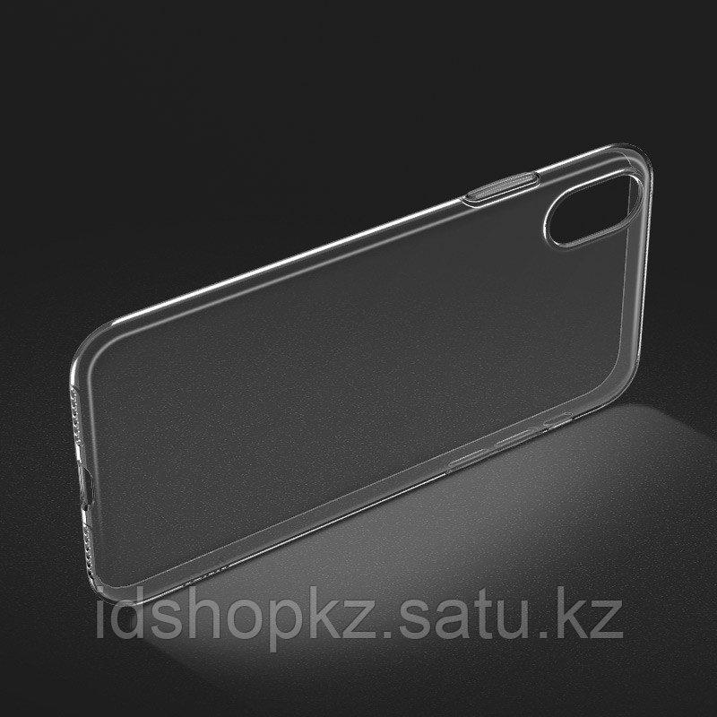 Чехол HOCO TPU Light Series для iPhone XR черный прозрачный, 0,8 мм - фото 4