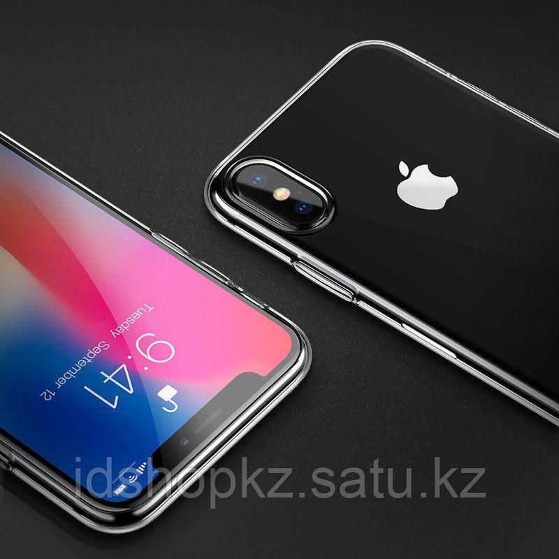 Чехол HOCO TPU Light Series для iPhone XR черный прозрачный, 0,8 мм - фото 5
