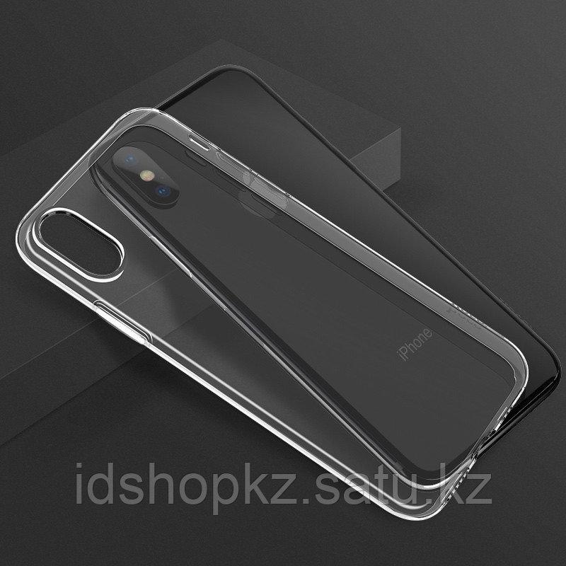 Чехол HOCO TPU Light Series для iPhone XR черный прозрачный, 0,8 мм - фото 6