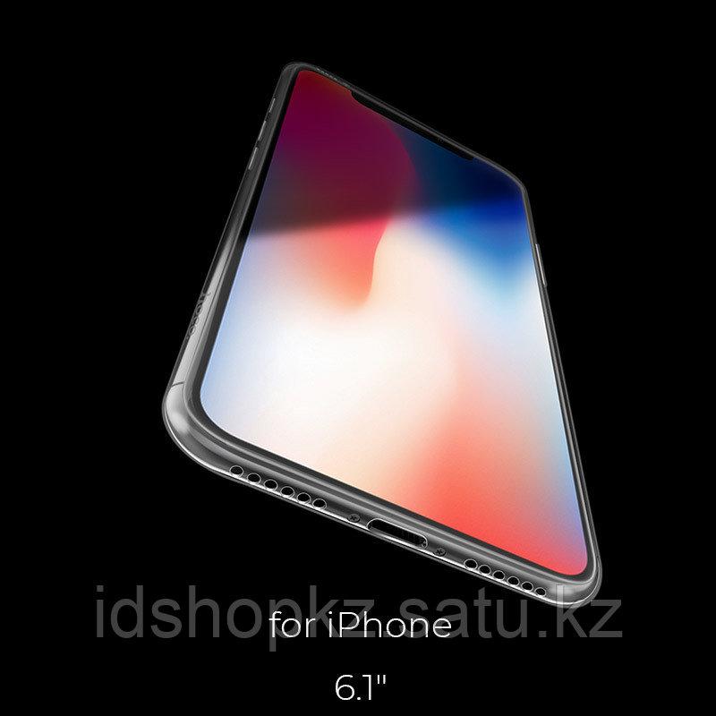 Чехол HOCO TPU Light Series для iPhone XR черный прозрачный, 0,8 мм - фото 7