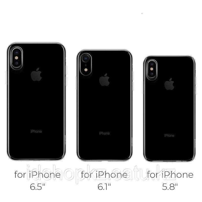 Чехол HOCO TPU Light Series для iPhone XR черный прозрачный, 0,8 мм - фото 8